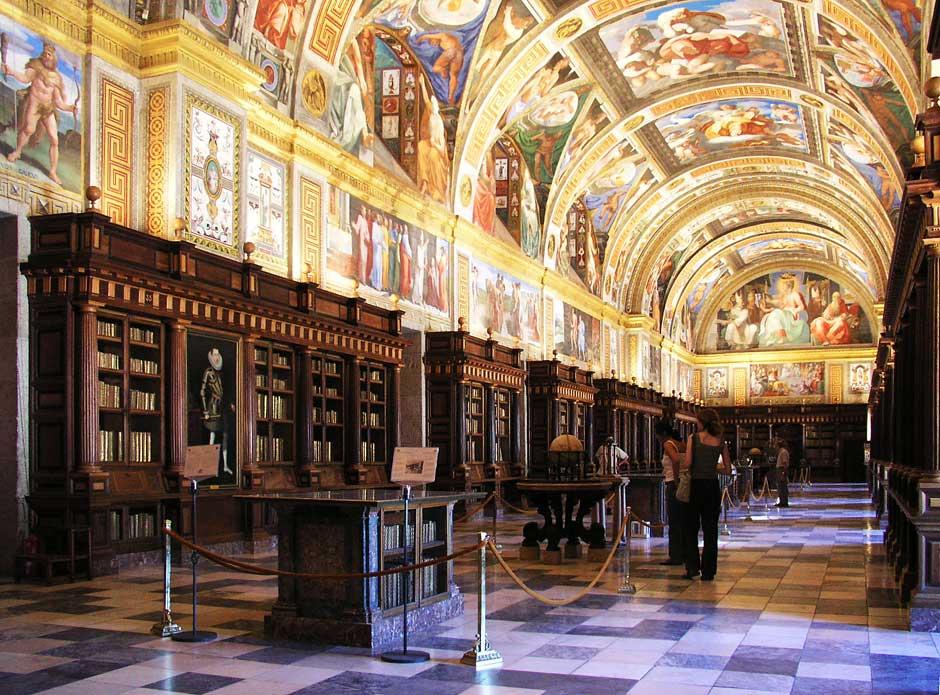 Biblioteca del Real Monasterio de San Lorenzo de El Escorial (Madrid)