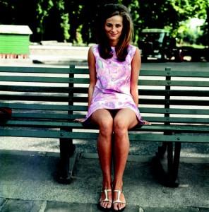 Charlotte Rampling in her dollybird days, c. 1967. © Philip Townsend