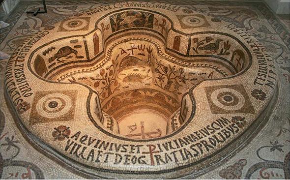 Panel mosaico Museo del Bardo