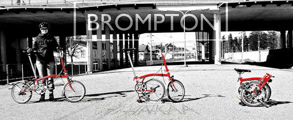 No sin mi Brompton