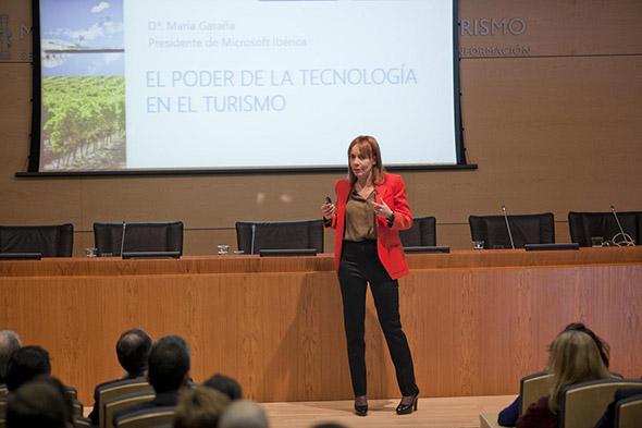 María Garaña, Presidenta de Microsoft, en Smart Tourism 2013
