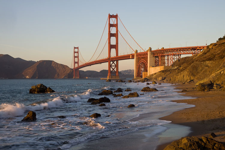 Golden Gate Bridge en Tu Gran Viaje