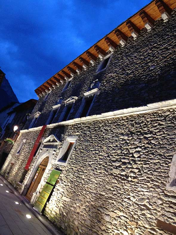 El palacio de los Condes de Ribagorza de Benasque, Huesca. © Tu Gran Viaje