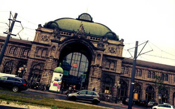 Fachada de la Nürnberg Hauptbahnhof. Foto © Tu Gran Viaje