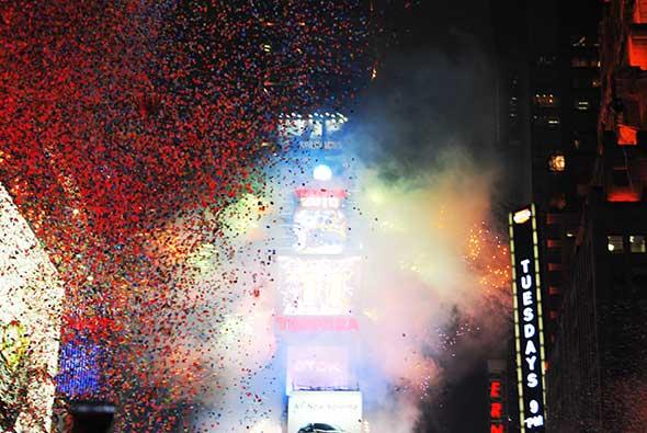 Nochevieja 2014 en Times Square, Nueva York