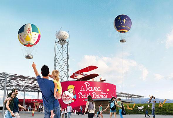 El parc du Petit Prince abrirá el mes de julio de 2014