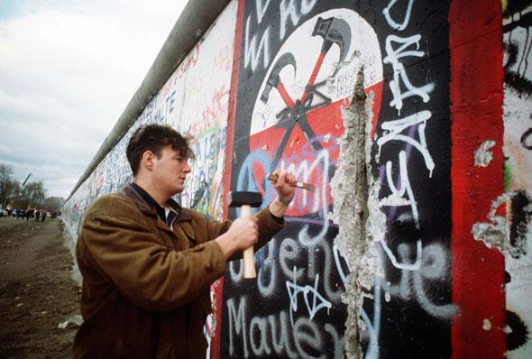 "Exposición ""Berlín Die Mauer"". Foto cortesía National Archives"