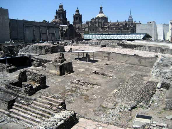 Templo Mayor de México DF
