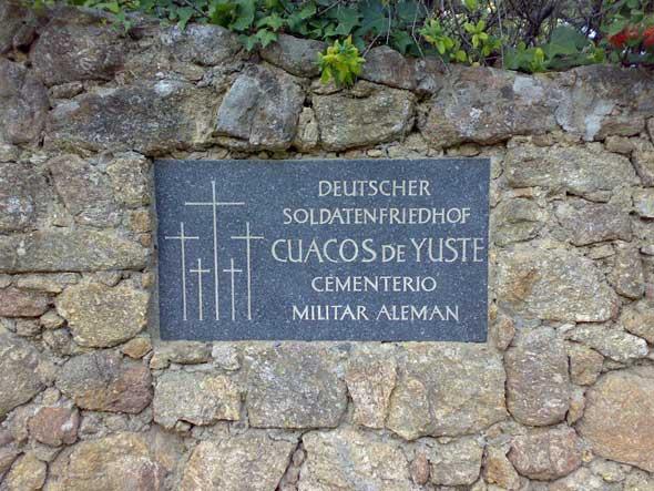 Cementerio Alemán de Cuacos de Yuste. Foto © Francisco Jódar | Tu Gran Viaje revista de viajes y turismo