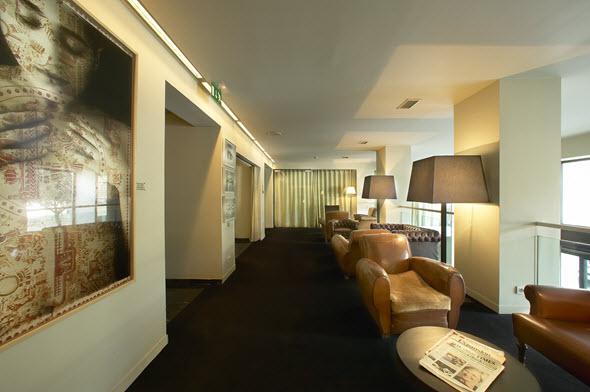 Zona de estar del Hotel Miró
