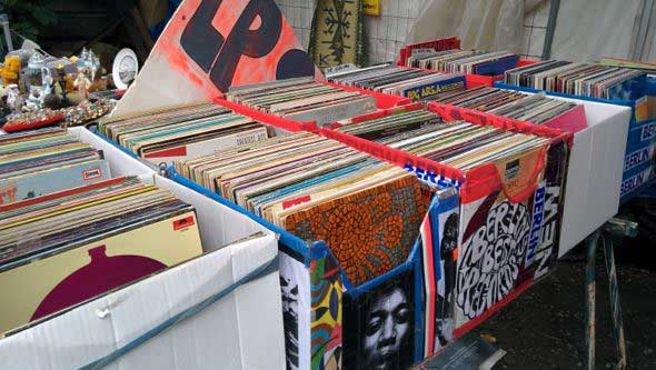 El flohmarkt de MauerPark en Berlín. Foto (c) Tu Gran Viaje