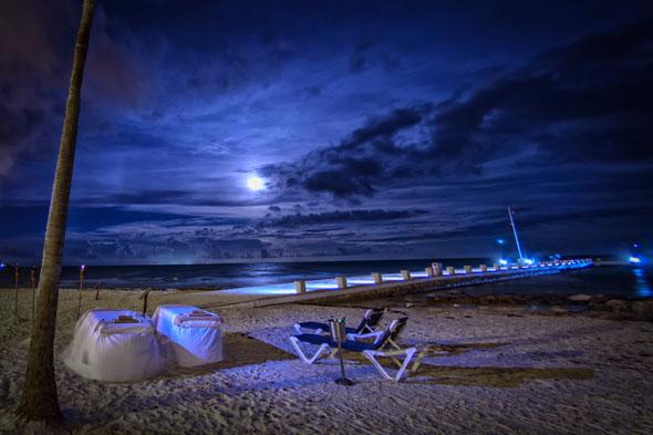 Spa del Barceló Maya Beach Resort, en la Riviera Maya mexicana