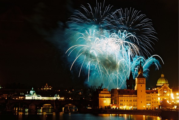 Nochevieja 2014 en Praga