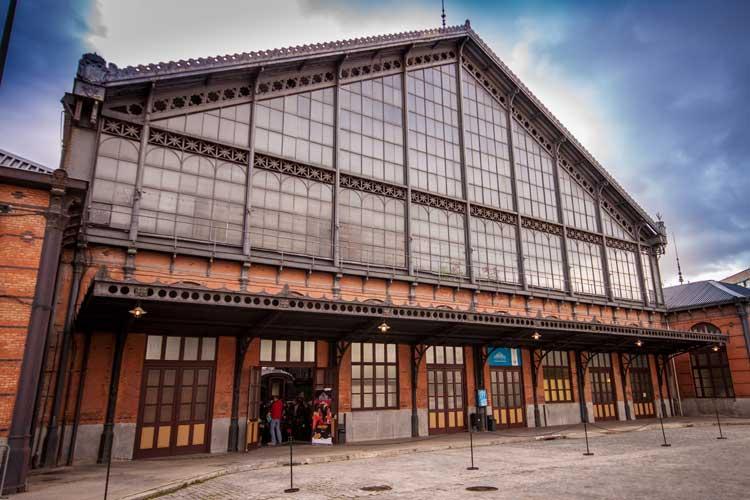 Museo del Ferrocarril de Madrid en la antigua estación de Delicias