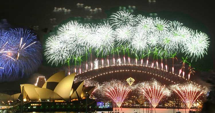 Fiesta de Nochevieja y Año  Nuevo en Sydney, Australia