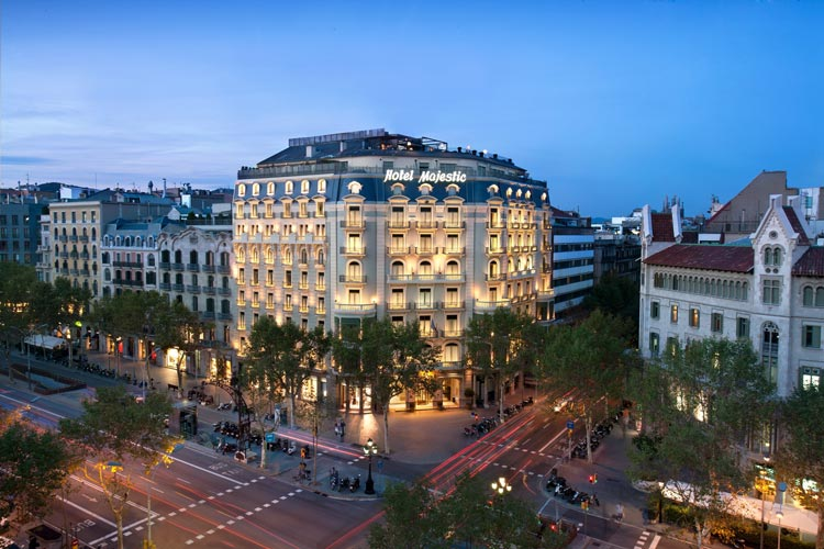 MAJESTIC HOTEL & SPA BARCELONA Se INCORPORA A THE LEADING HOTELS OF THE WORLD