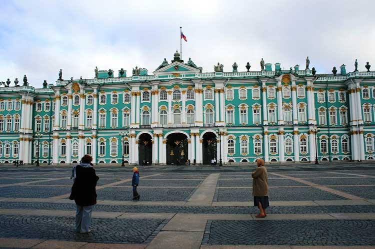 Museo de Hermitage, San Petersburgo