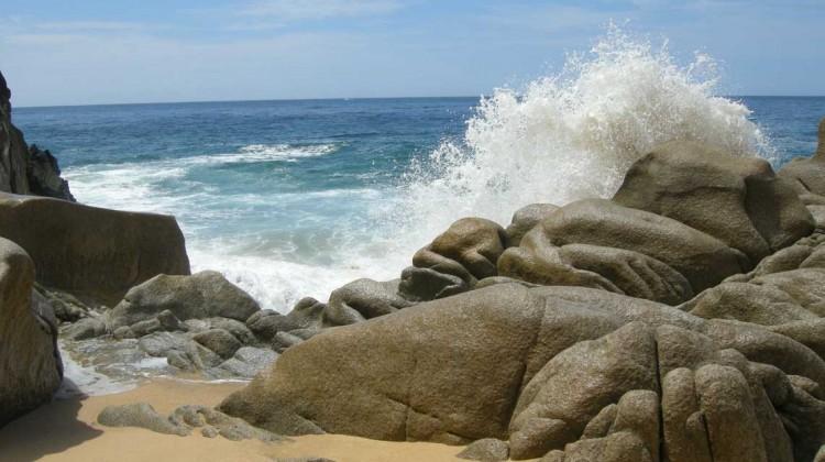 Playa de los amantes, baja california. Foto Kirt Edblom