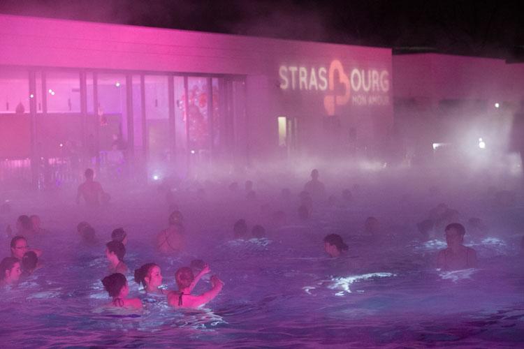 Baño a la luz de la luna en Estrasburgo Mon Amour
