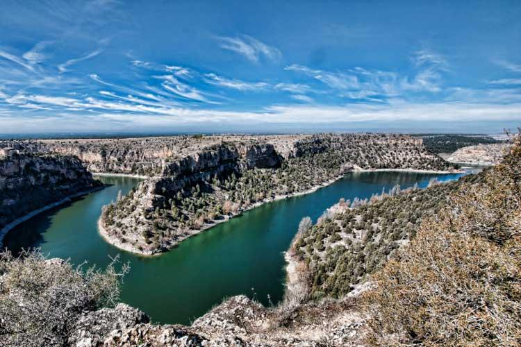 Camino de San Frutos. Hoces del Duratón, Segovia