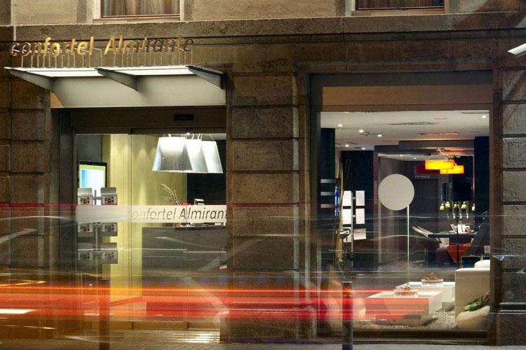 Confortel Almirante Barcelona. Premios Tourism for Tomorrow organizados por la organización mundial de Turismo y Viajes (WTTC)