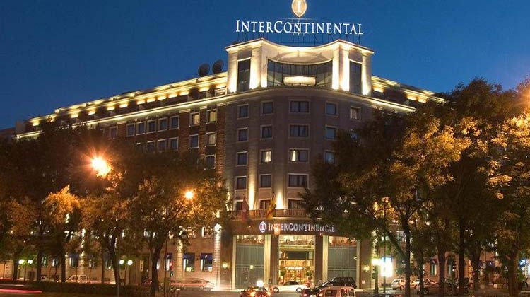 Fachada del Hotel Intercontinental de Madrid