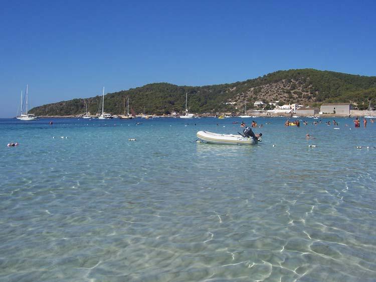 Playa de Ses Salines de Ibiza.