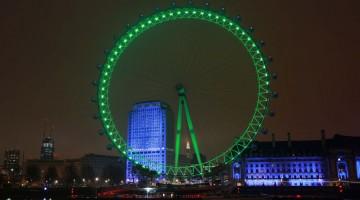 London Eye St Partrick's Day 2015