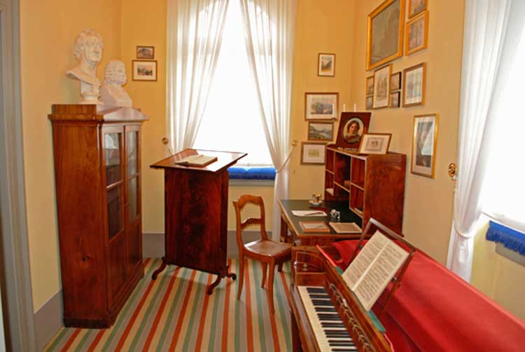 Museo de Mendelssohn. Foto © Leipzig Travel