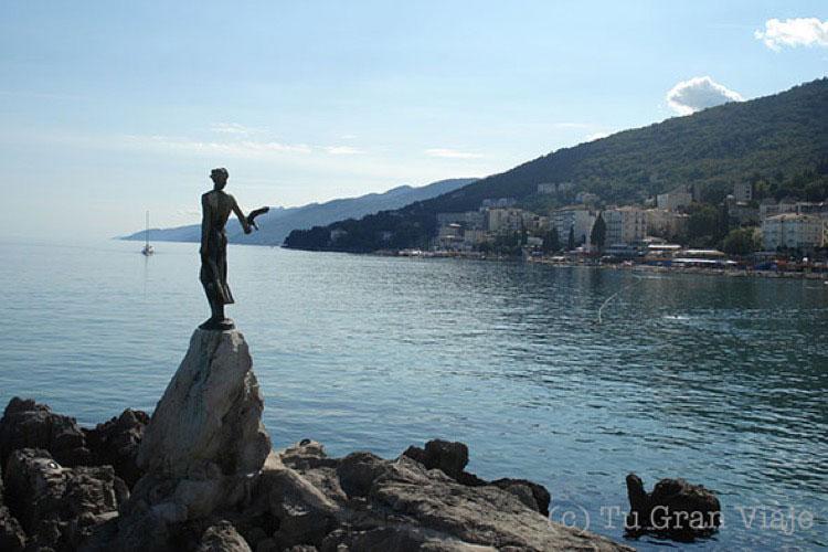 Panorámica de Opatija, Croacia. Foto © Tu Gran Viaje