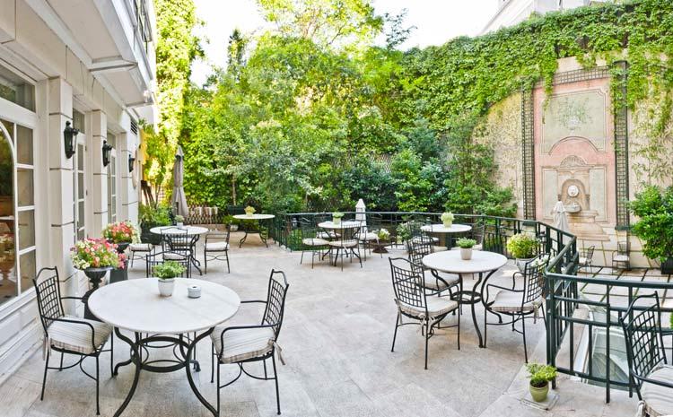 Comienza la temporada en el hotel orfila de madrid - Terrazas romanticas madrid ...