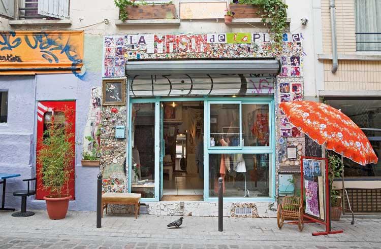 Boutique de Belleville. Foto © Amelie Dupont/Paris Tourist Office