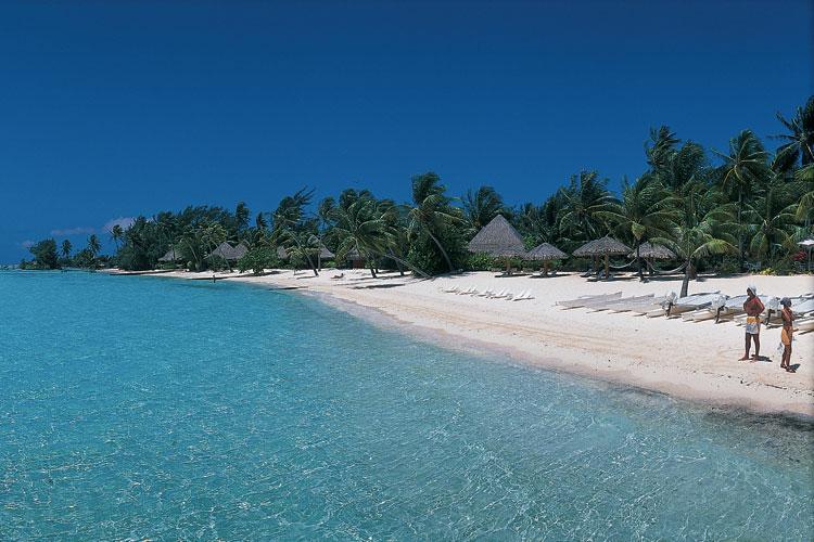Playa de Bora Bora. Foto © Tahiti Tourisme