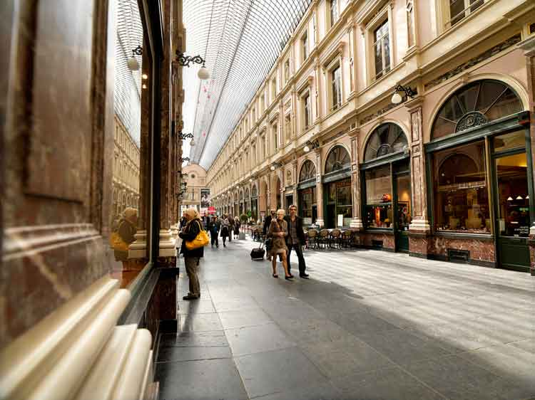 Las Galerías Saint Hubert de Bruselas. Foto © Sofie Coreynen