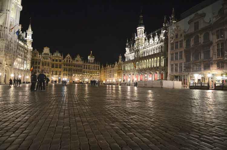 La Grand Place de Bruselas. Foto © Visit Flanders