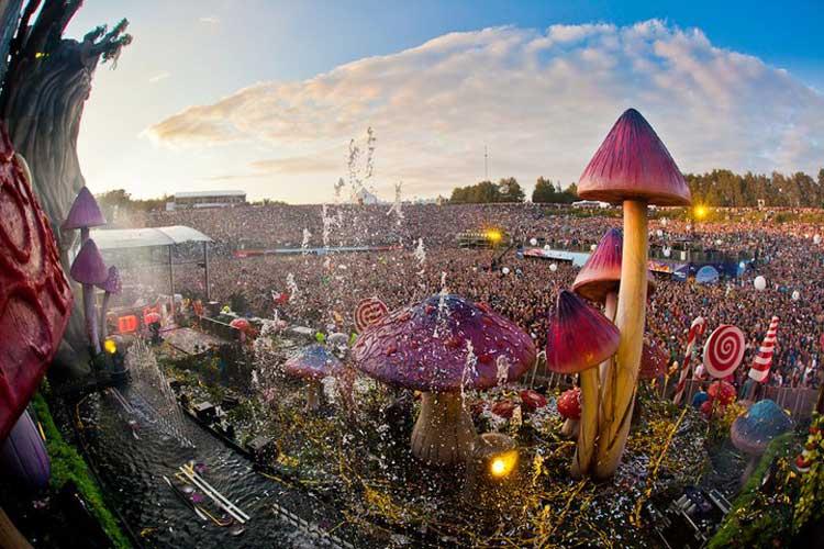 Tomorrowland Festival. Foto @ Kevin Verkruijssen