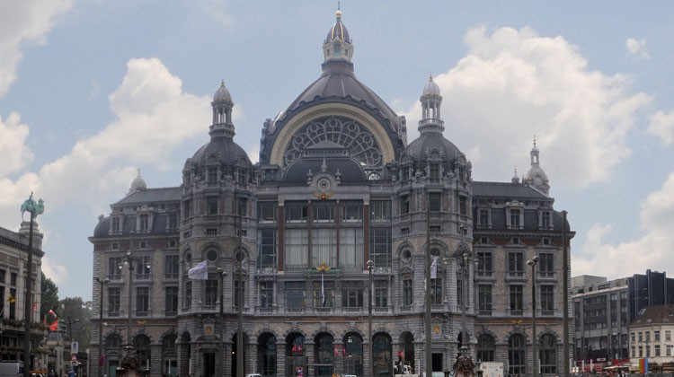 Estación Central de Amberes. © Antwerp Tourism & Convention