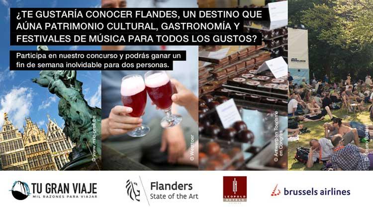 concurso #FlandesEsUnFestival y gana un viaje a Amberes