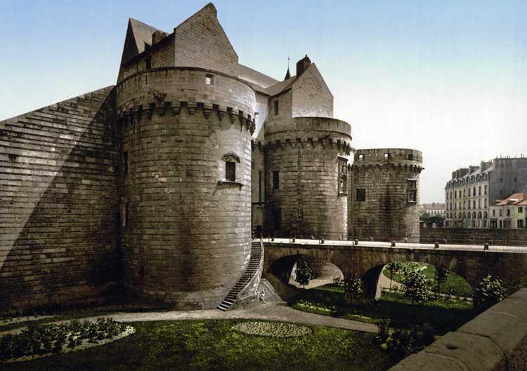 Castillo de los Duques de Bretaña en Nantes