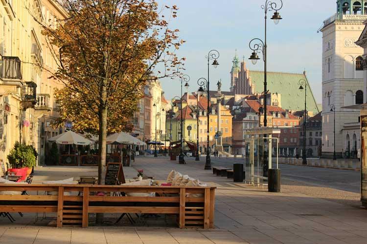 Dónde dormir y comer en Varsovia