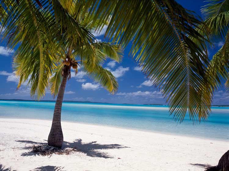 laguna de One Foot, Islas Cook