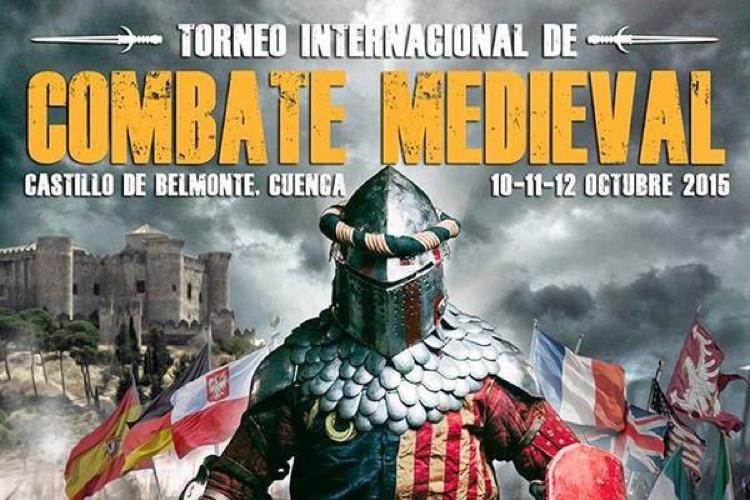 Torneo Internacional de Combate Medieval. Castillo de Belmonte (Cuenca)