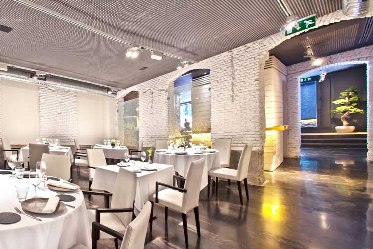 Restaurante Alabaster de Madrid