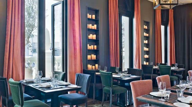 Restaurante Atico Ramon Freixa. Hotel The Principal Madrid