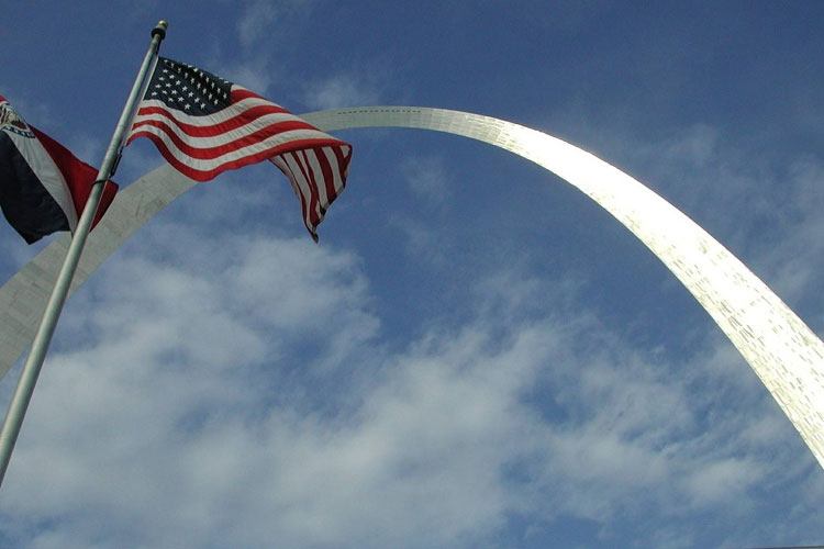 The Gateway Arch, St Louis. Tu Gran Viaje