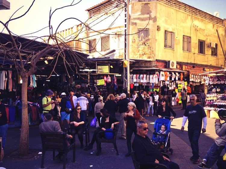 Mercado del Carmel, Tel Aviv. Foto © Tu Gran Viaje