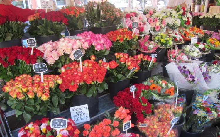 Mercado de las Flores de Niza. Foto © Tu Gran Viaje