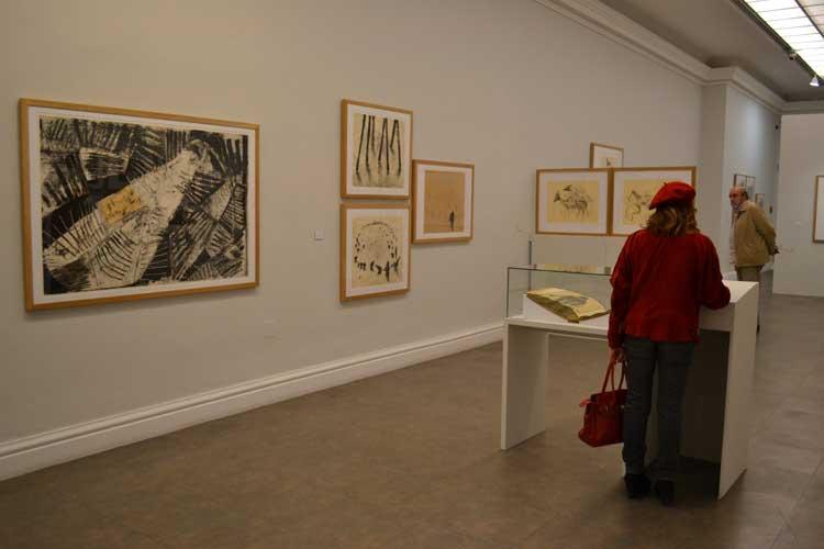 """Exposición """"Miquel Barceló Gráfico"""" en el Museo de Bellas Artes de San Fernando. Foto © Jesús García Marín"""
