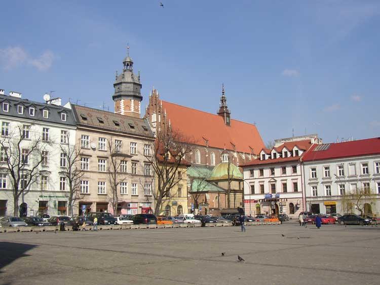 Plac Wolnica, Cracovia.