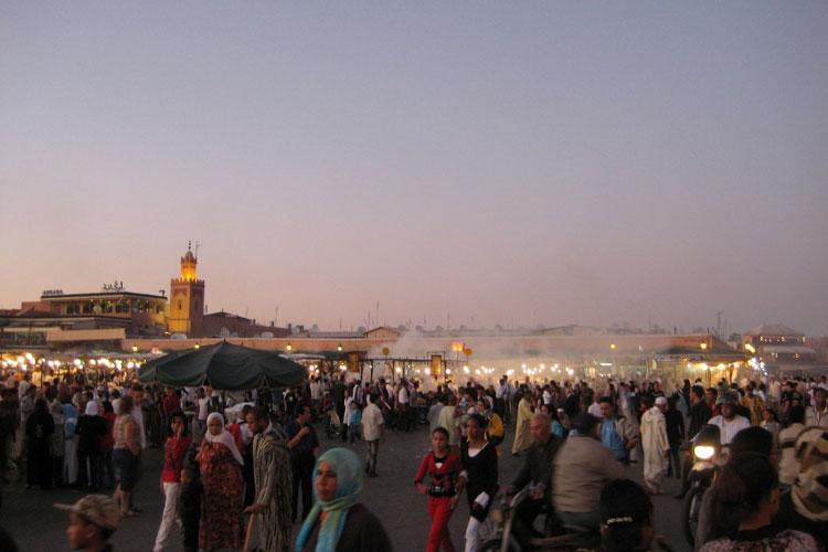 Plaza de Yamaa el Fna de Marrakech. © Tu Gran Viaje